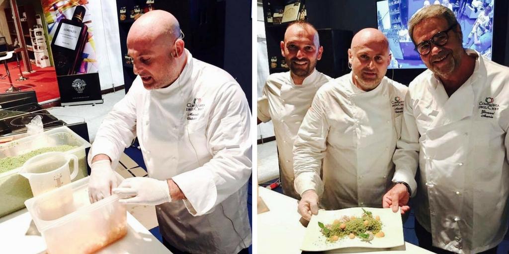 Compagnia degli Chef Marcello Valentino cous cous fest