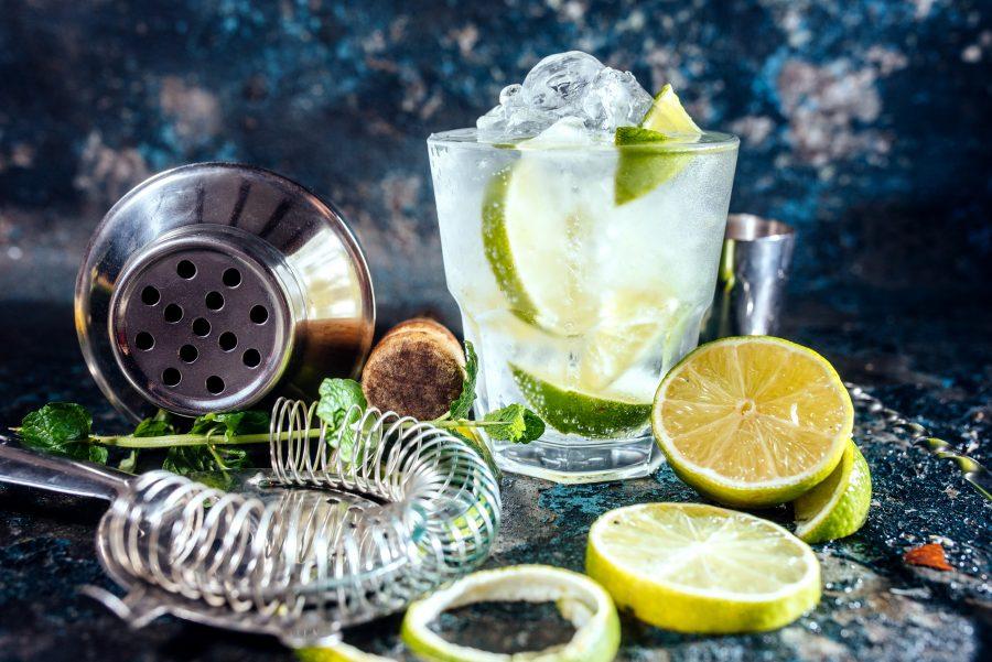 gin tonic colatura di alici