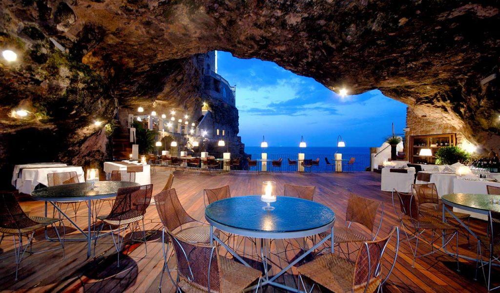 grotta palazzese ristorante più bello del mondo felice sgarra