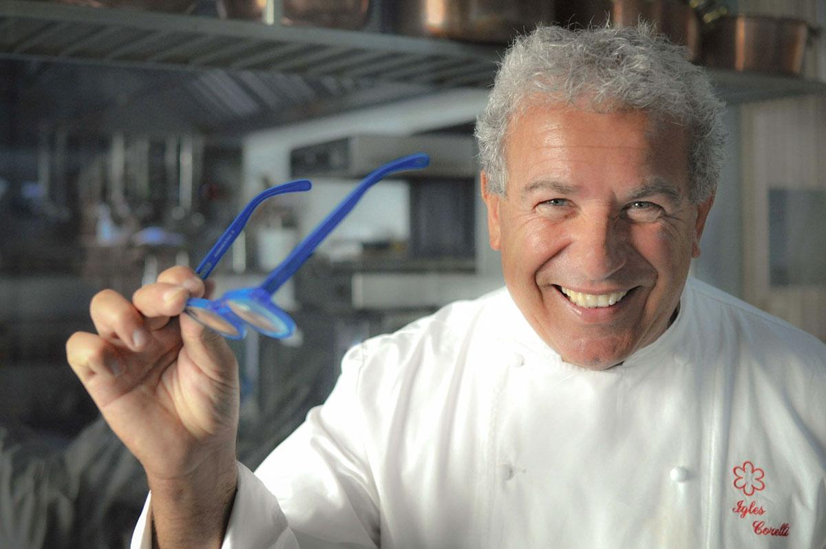 Igles Corelli ristorante Atman Mercerie Roma